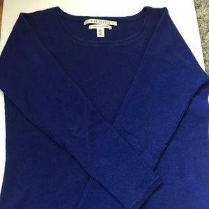 Blue fall sweater
